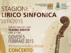 Stagione lirico-sinfonica borgo s.l.