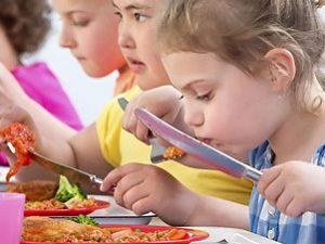 Alimentazione sana a scuola e a casa