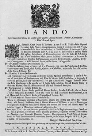 Cosimo iii e il bando divino