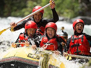 Raftng: discese sulla sieve