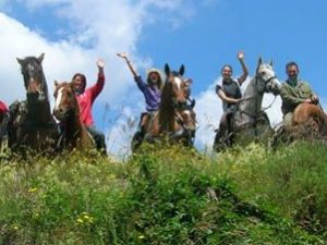 A palazzuolo cavalli e cavalieri