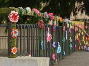 Un filo di ... - Urban knitting