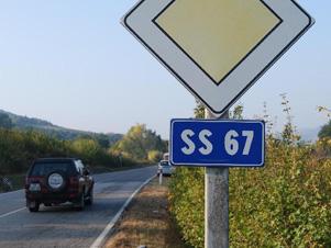 La ss67 riapre al transito