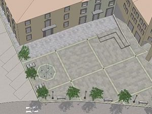 Dicomano: una nuova piazza bella e da vivere