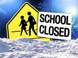 Allerta meteo per neve: domani scuole chiuse