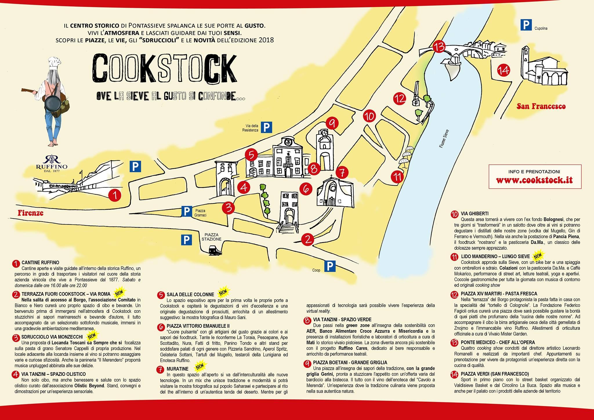 Cookstock a pontassieve dal 7 al 9 settembre