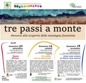 """""""Tre passi a monte"""" il 30 settembre"""