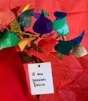 Pensieri felici per l'albero di dicomano