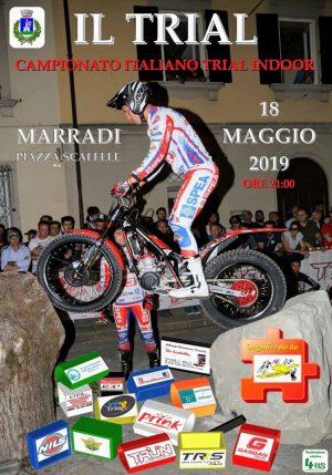 Marradi: il trial indoor torna in piazza