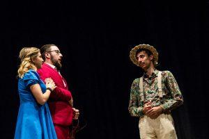 Kontatto e chicchessia insieme a teatro
