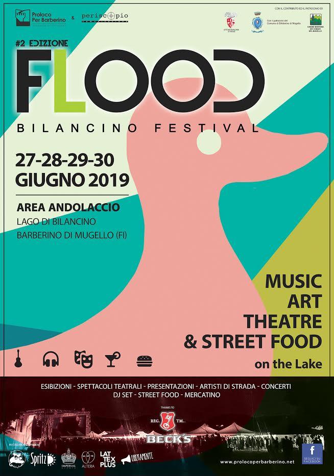"Torna ""flood"" a bilancino"