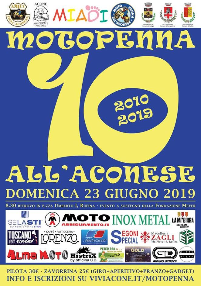 10° motopenna all'aconese