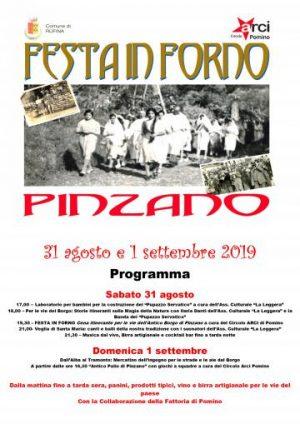 Festa in Forno 2019 a Pinzano (Rufina)