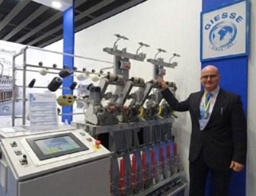Presentate a ITMA le macchine a risparmio energetico OPTIMA eco Plus e ROTOsoft