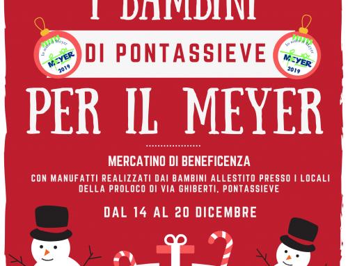 Mercato di Natale dei bambini di Pontassieve per il Meyer