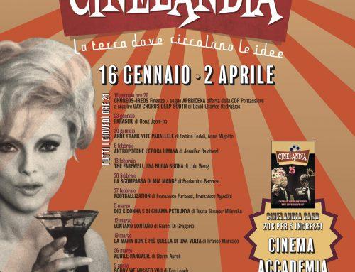A Pontassieve, torna Cinelandia dal 16 gennaio al 25 Aprile