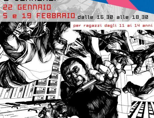 A Pontassieve in biblioteca con il fumettista Luca Brandi