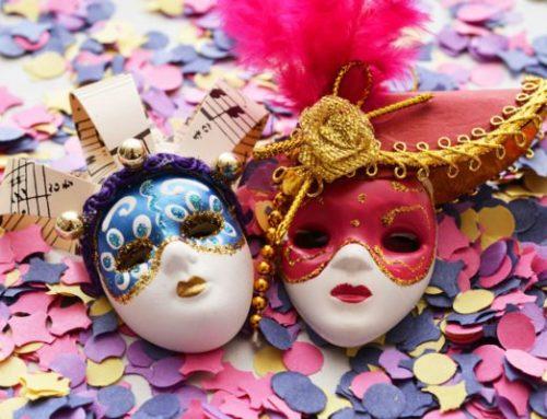 In Mugello, maschere e pioggia di coriandoli nel weekend