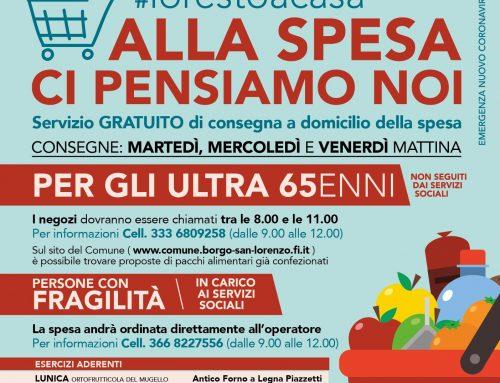 """Borgo San Lorenzo: progetto """"Spesa a domicilio"""" le novità"""