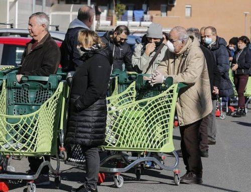 Coronavirus: appello di Ciuoffo per evitare l'affollamento nei supermercati