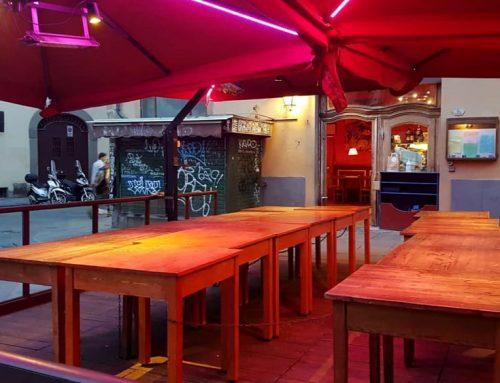 Fase 2. Tavolini e sedie all'aperto: approvato il disciplinare