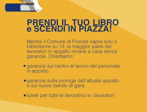 Le biblioteche devono riaprire, il lavoro deve essere garantito