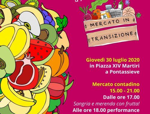 Giovedì 30 luglio Frutta Party al Mercato in Transizione!