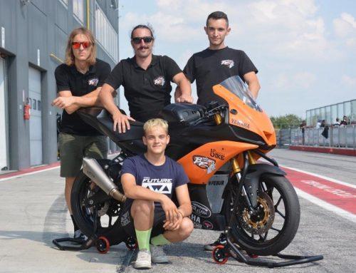 Mirko Gennai debutta al Mondiale Superbike categoria ss300