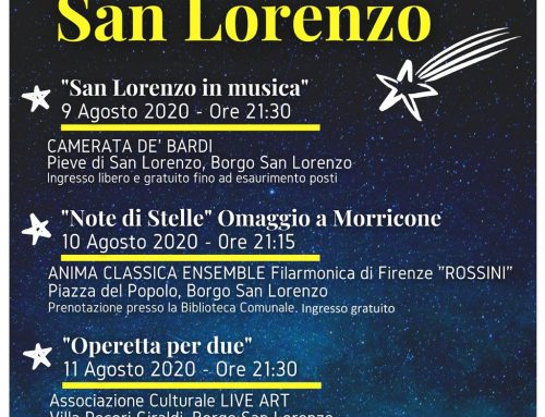 """Borgo San Lorenzo: """"Le notti di San Lorenzo"""""""