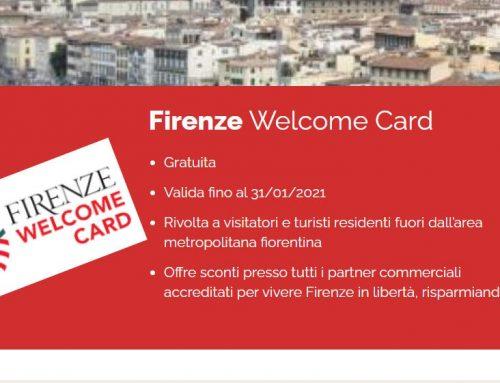 Turismo, la Firenze Welcome Card cresce e aumenta i punti