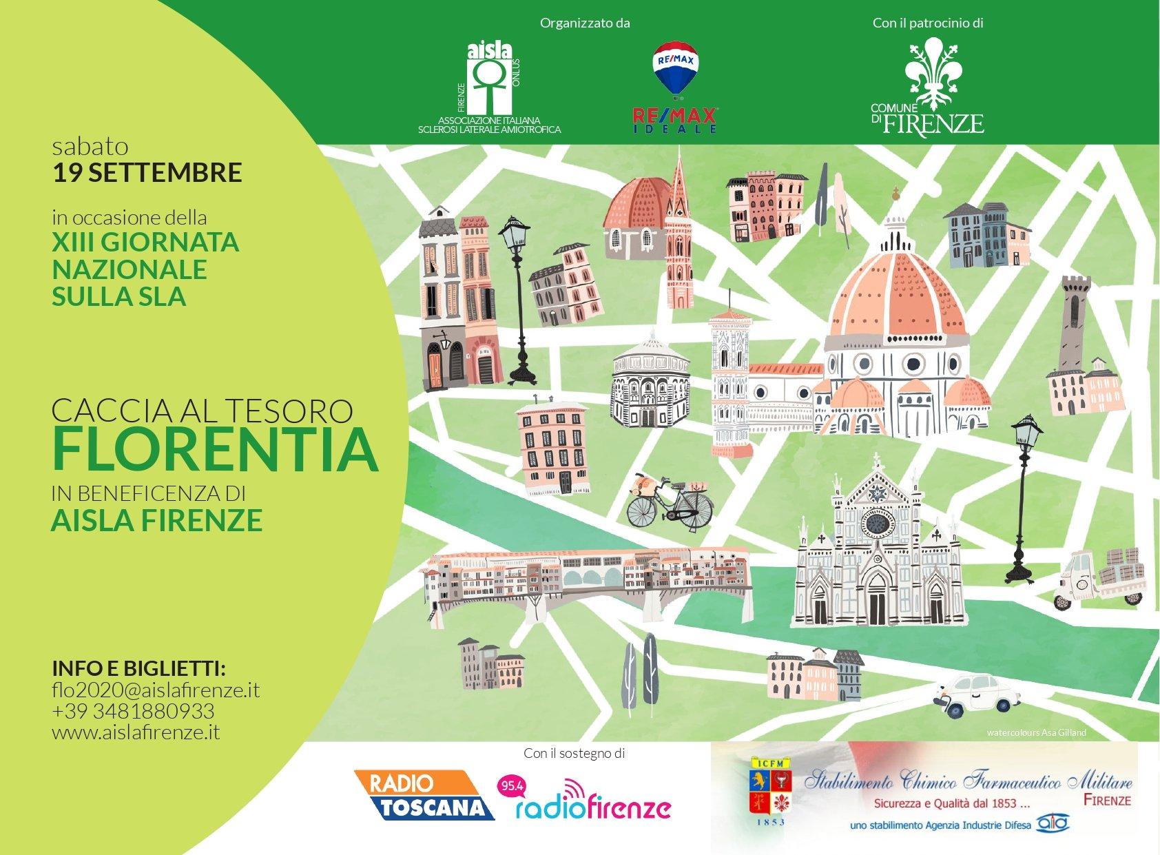 Caccia al Tesoro - Florentia 2020 locandina