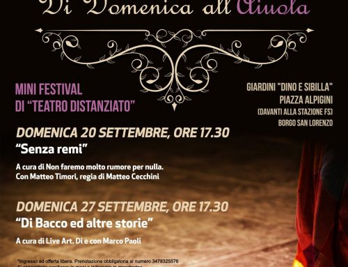 "Due domeniche di teatro ""all'aiuola"""
