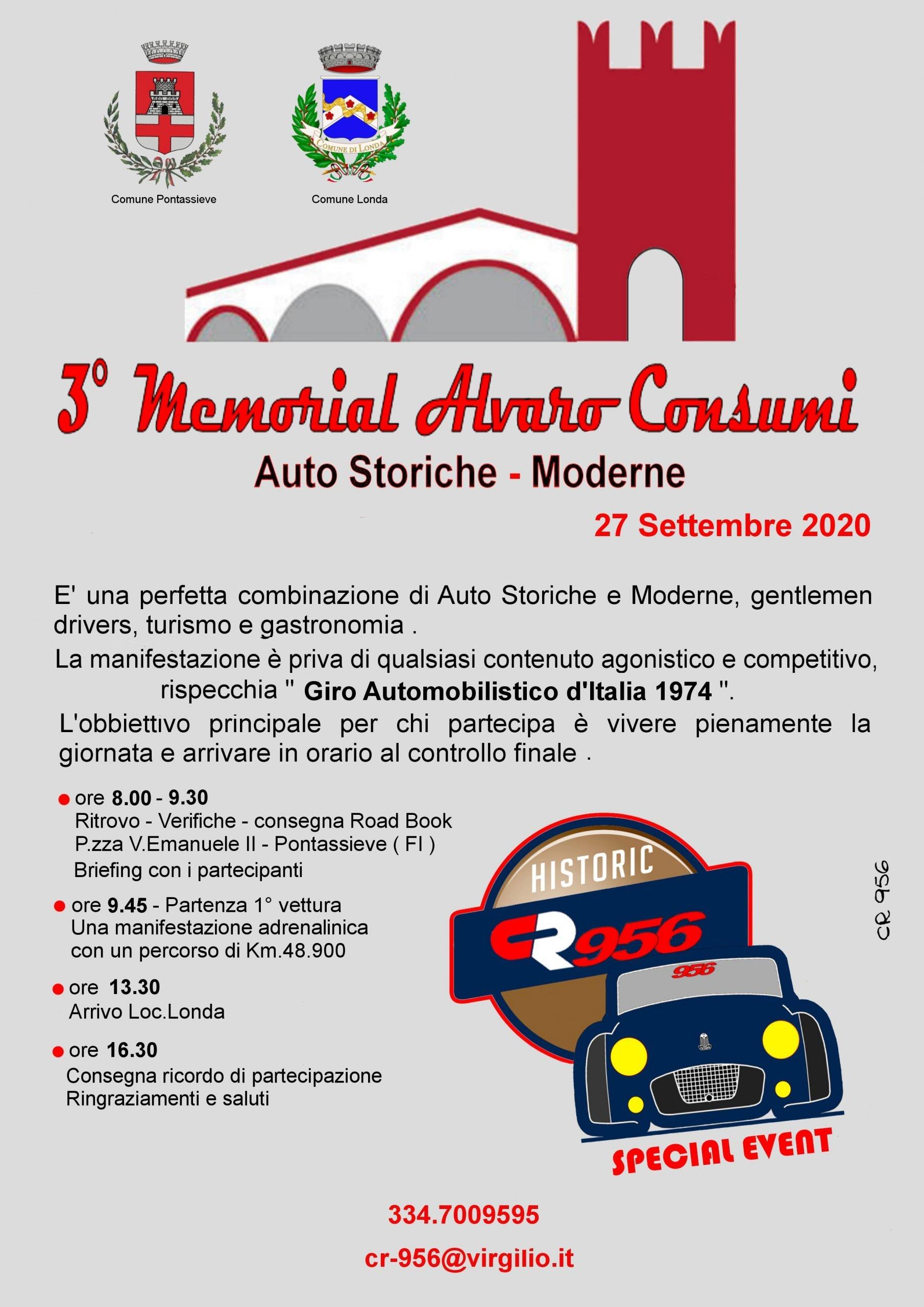 Memorial Alvaro Consumi