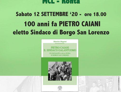 La Terrazza Ronta – Pietro Caiani cent'anni fa