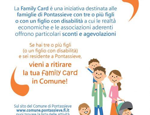 Pontassieve: sconti e agevolazioni per le famiglie numerose
