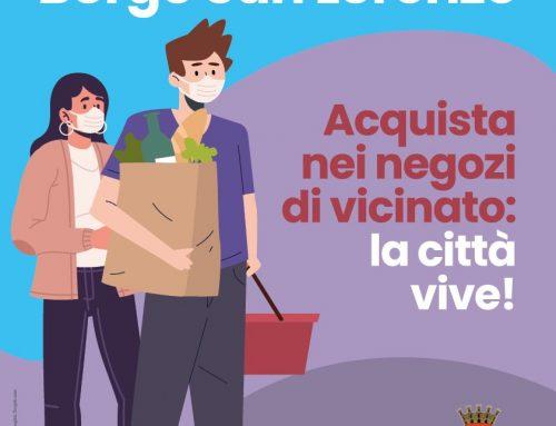 #ioComproaBorgo: la campagna a sostegno dei negozi di vicinato