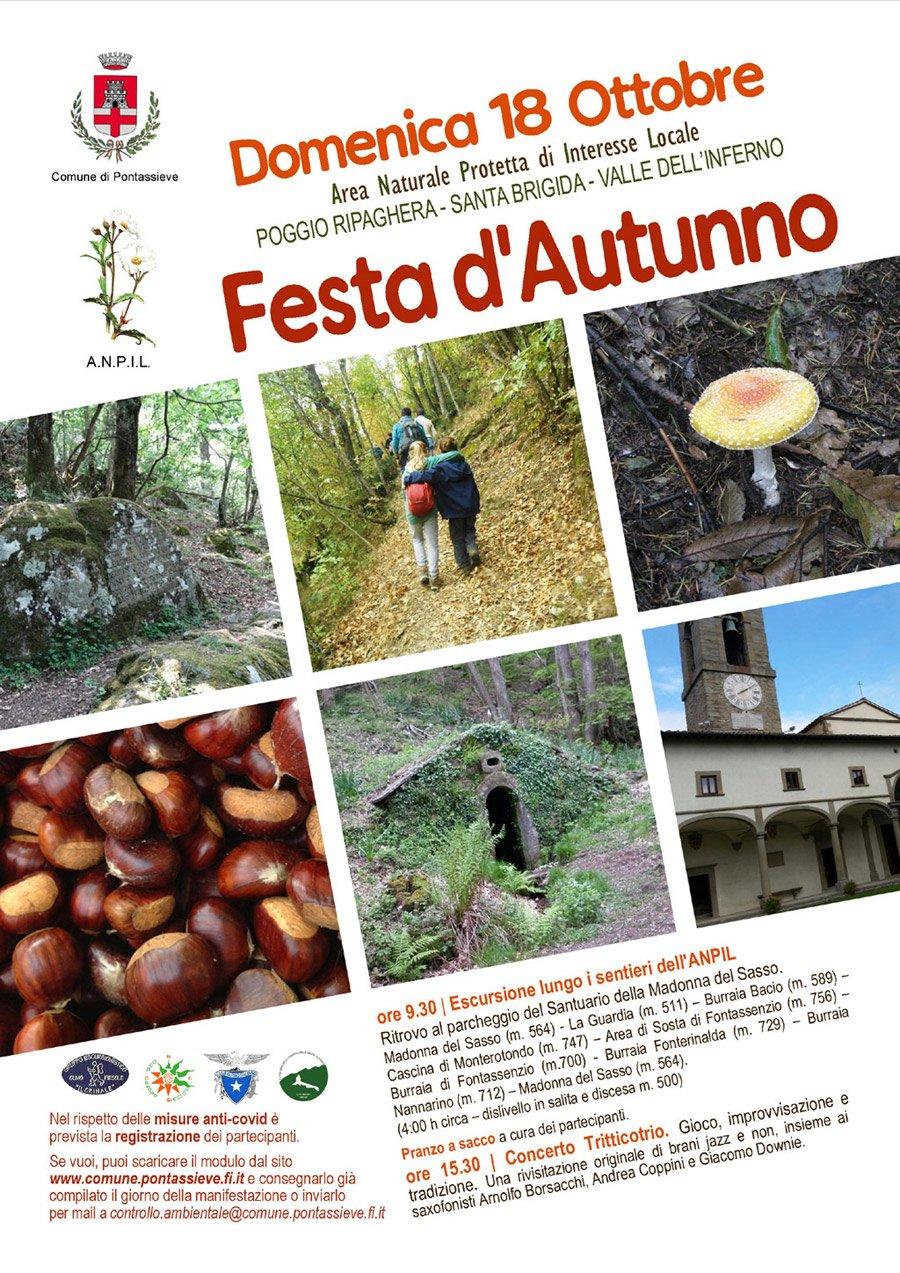 locandina festa d'autunno