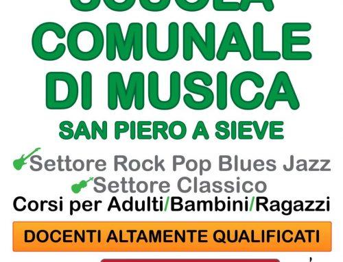Sound e la Scuola di musica di San Piero a Sieve