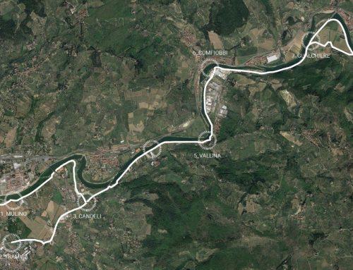 Ciclovia dell'Arno, ok alla tratta Firenze-Rosano