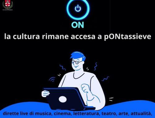 """Nasce """"PONTASSIEVE ON"""": la cultura diventa una TV online"""
