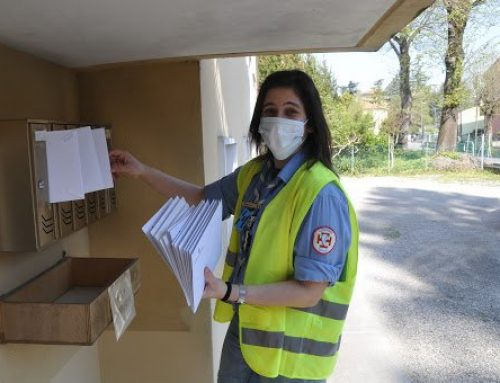 Borgo San Lorenzo: mascherine a casa grazie ai volontari