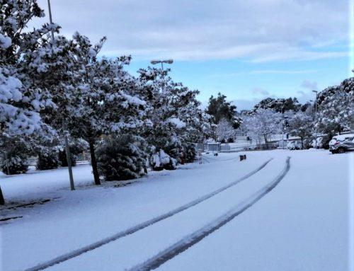 Meteo, arriva la neve in Mugello e Val di Sieve