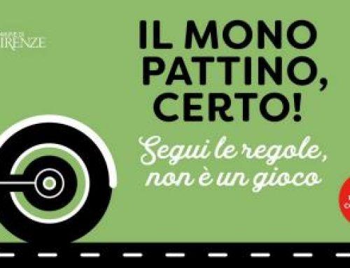 A Firenze casco obbligatorio col monopattino elettrico