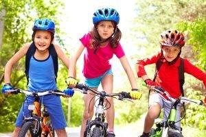 scolari in bici