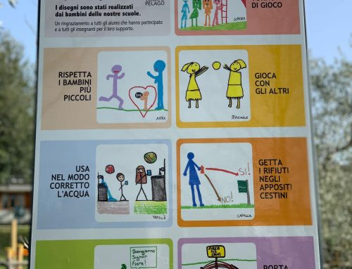 Pelago: nuova segnaletica disegnata dagli alunni delle scuole