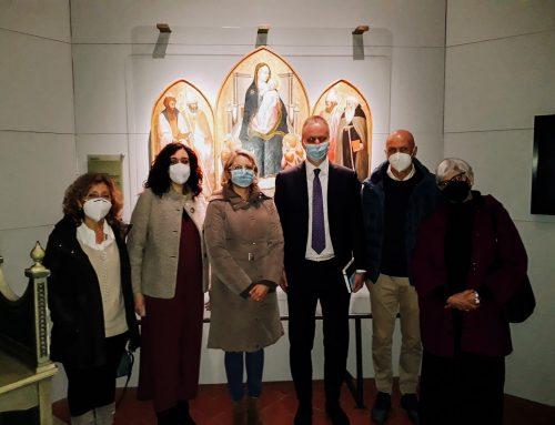 Il direttore degli Uffizi Schmidt in visita al Museo Masaccio