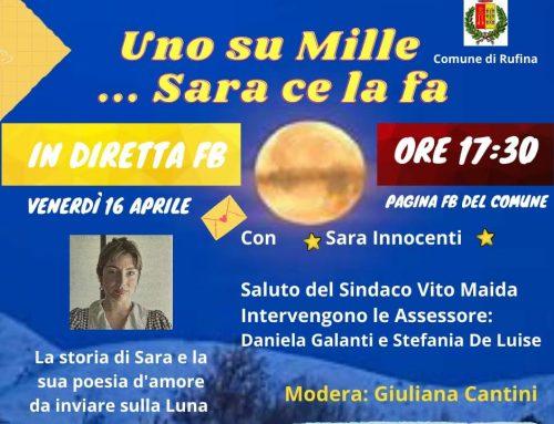 Una poesia d'amore sulla luna: venerdì prossimo incontro con Sara Innocenti