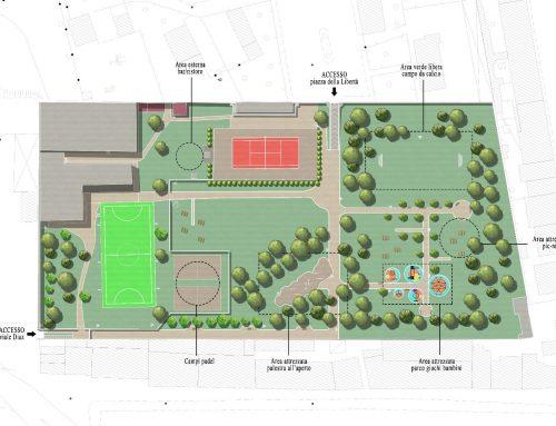 A Pontassieve un sistema di nuovi parchi per la socialità e lo sport dei cittadini