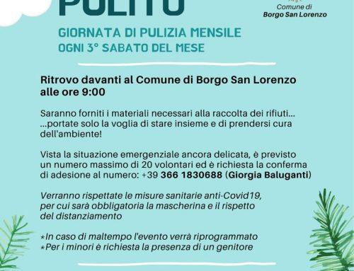 "Borgo San Lorenzo: Sabato 19 giugno appuntamento con ""Borgo Pulito"""