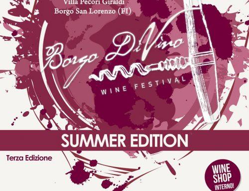 Borgo DiVino raddoppia con un'edizione estiva 2021